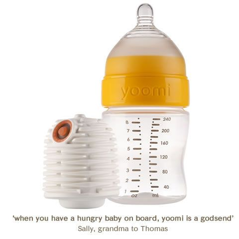 this is great for middle of the night feedingsBaby Bottle