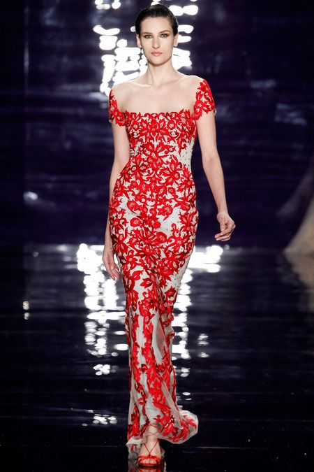 Reem Acra gown?  RTR