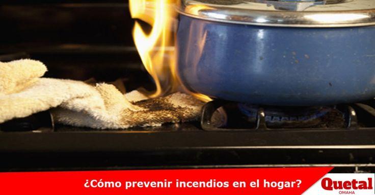 Consejos sobre la prevención de incendios en el hogar Lee la nota completa: www.quetal.us/?p=4294