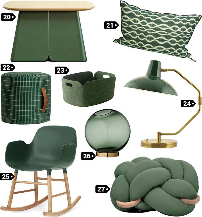 Wishlist décoration couleur vert empire wishlistdeco decoration design designer decodesign