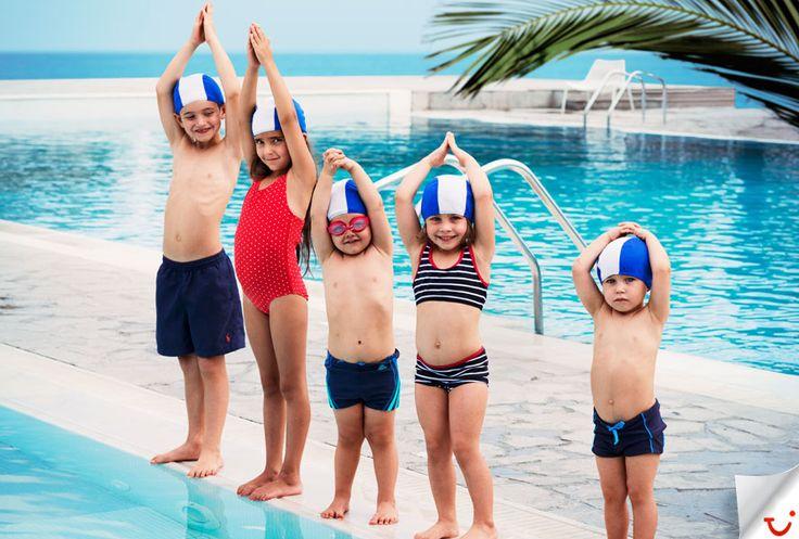 Blue Village uimakoulusta lomatuliaisena uimataito! #Blue_Village www.finnmatkat.fi