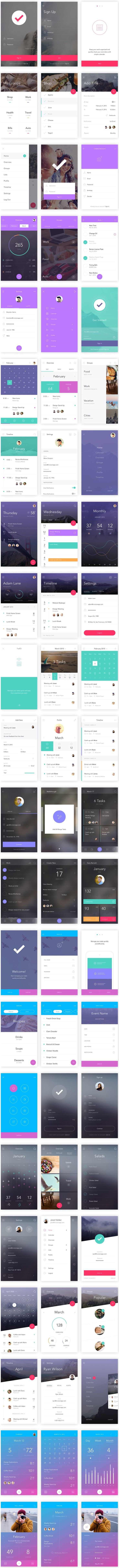 DO: Free App UI Kit for Photoshop & Sketch