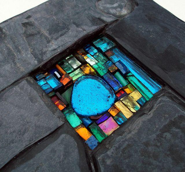Little Joy wall art by Helen Nock, via Flickr...would make a great tabletop