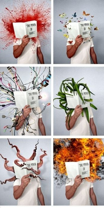 """The Power of Books""."