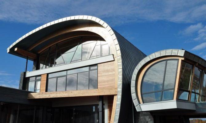 1000 Ideas About Zinc Roof On Pinterest Modern Barn