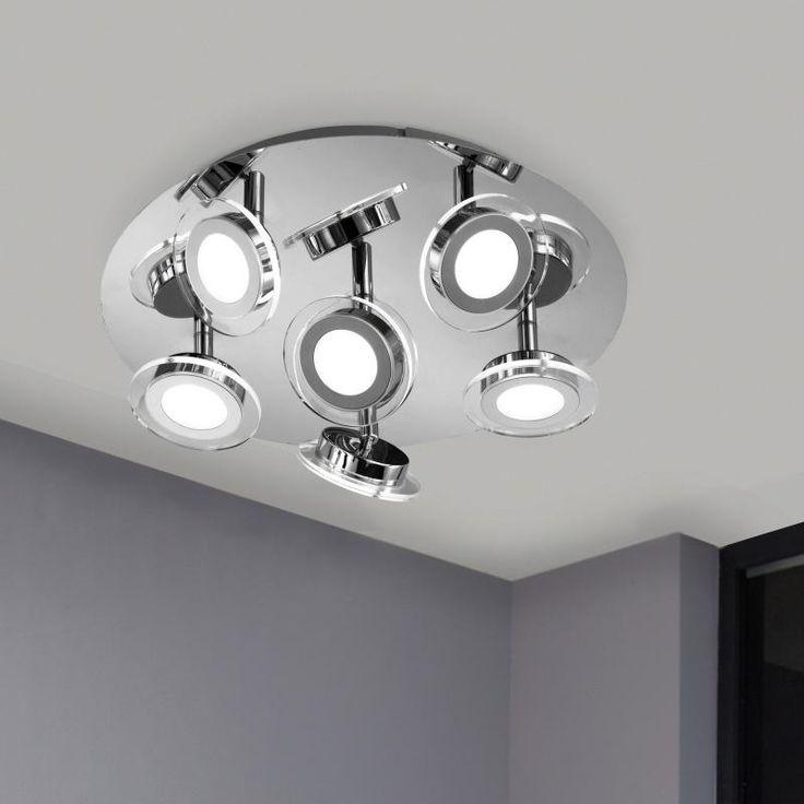 Wofi Chloe LED ceiling spotlight 6 heads