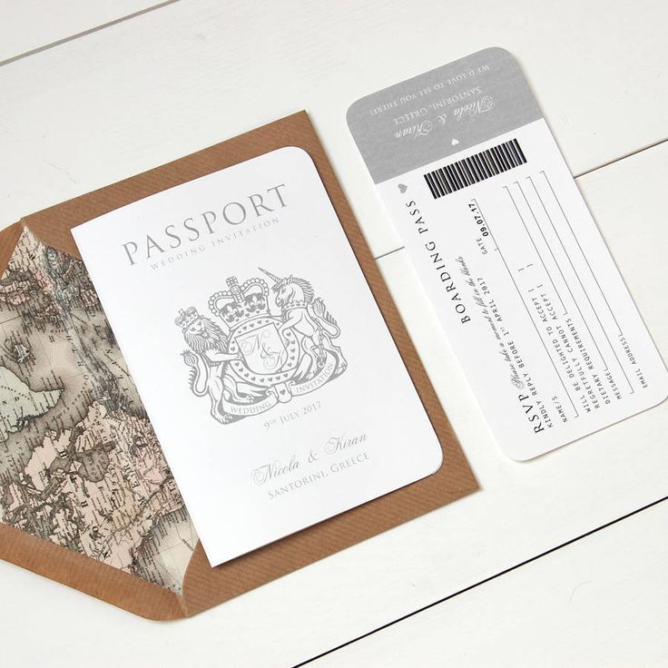 16 Best Save The Dates Images On Pinterest Passport Save The