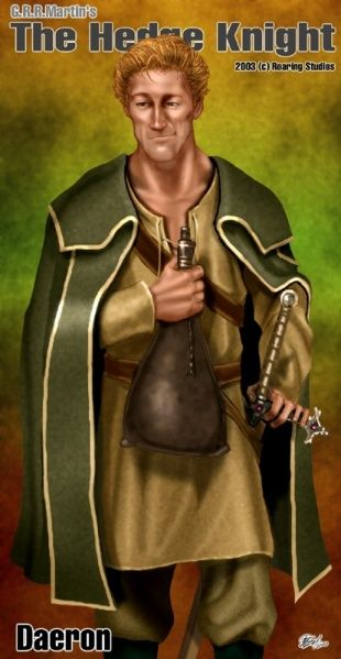 Prince Daeron Targaryen, sometimes referred to as Daeron the Drunken, was the eldest son of Maekar I. Maester Aemon served at Daeron's keep until Daeron died of a pox he caught from a whore. He left one feeble-witted daughter as issue