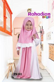 Telah lahir brand baju muslim anak yang men Jual Baju Gamis Lucu Anak Perempuan , yaitu Rahadian Kids.