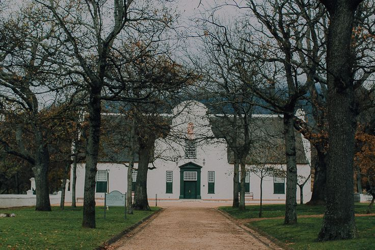 Jonkershuis Wedding Venue at Groot Constantia. Featured on my list of favourite wedding venues >> http://michelledt.com/wedding-venues-1/  Old, classic elegant wedding venue on a wine farm in Cape Town.