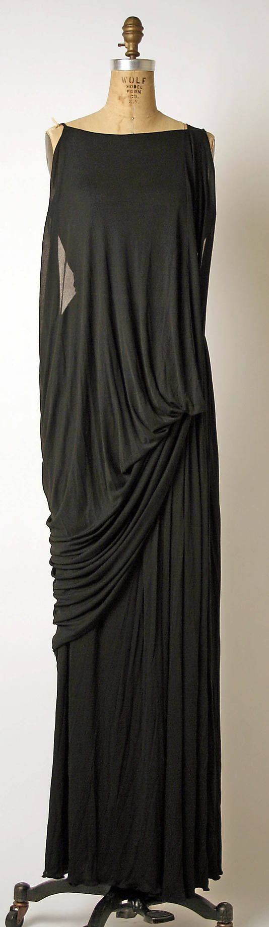 Evening Ensemble, Madame Grès (Alix Barton) (French, Paris 1903–1993 Var region): late 1960's - mid 1980's, French, silk.