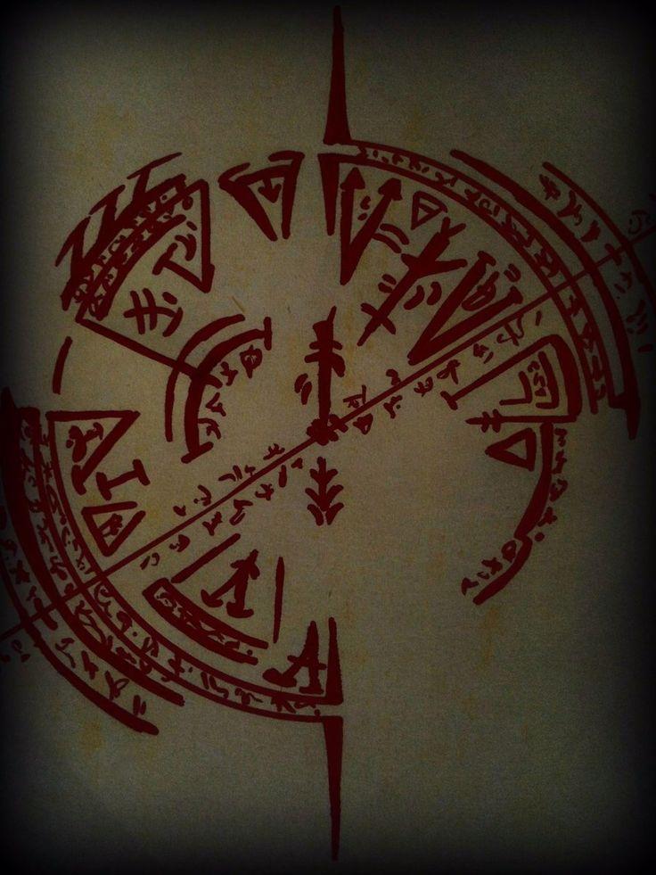 Demon summoning circle by Galedor37.deviantart.com on @deviantART