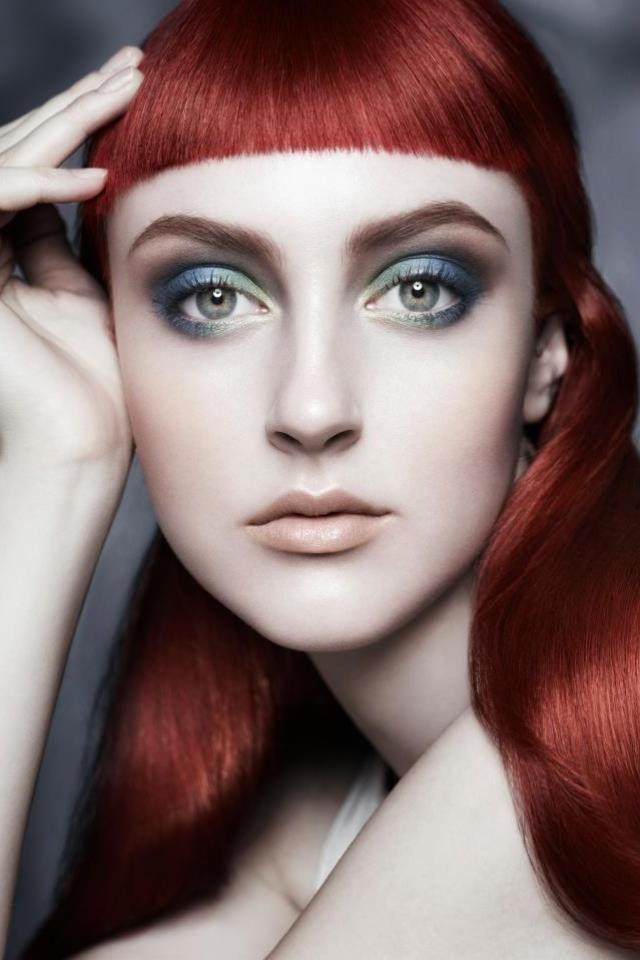 Cerulean Smoke Aveda  Makeup Janell Geason