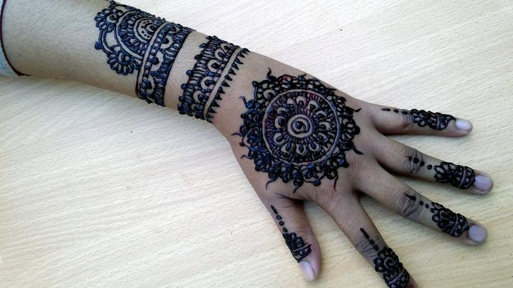 Bridal mehndi designs for full hands for marriage  10 by RN Mehedi Design