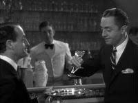Detectives & their Drink: Cocktail Recipes & Thin Man Martini Video. I love William Powell!