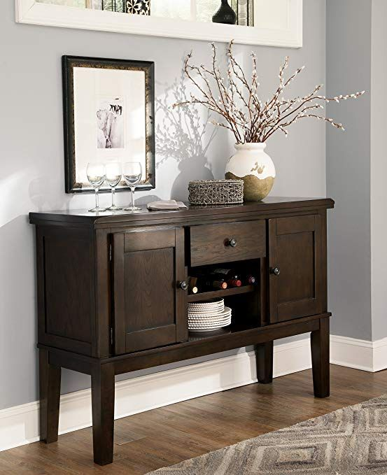 Handigan Casual Dark Brown Color Dining Room Server Review