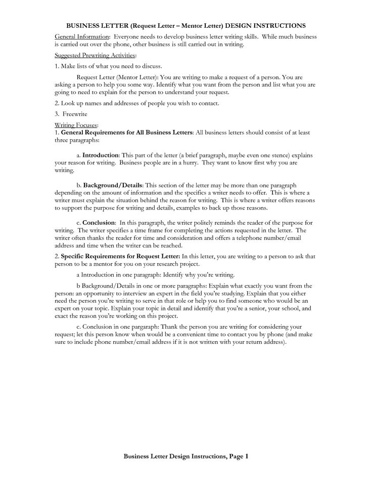The 25+ Best Formal Business Letter Format Ideas On Pinterest   Letters Of  Request Format