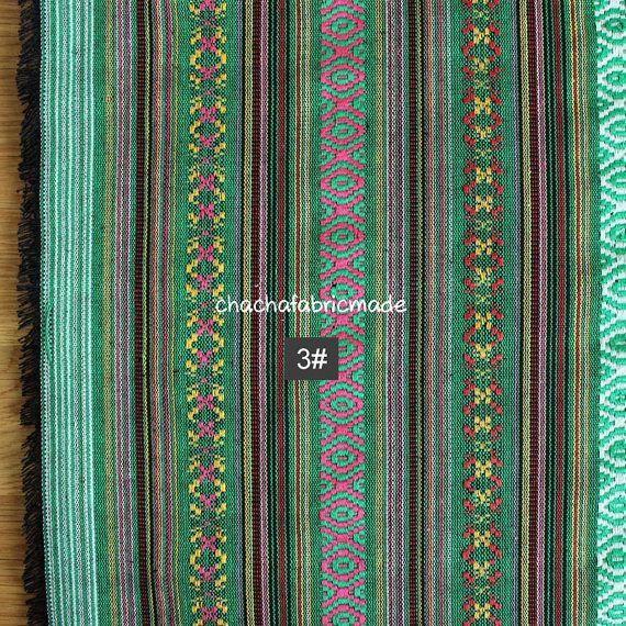 Tribal Fabric Ethnic Aztec