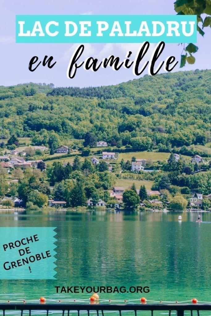 Balade Au Lac De Paladru Depuis Grenoble En Famille Photographie