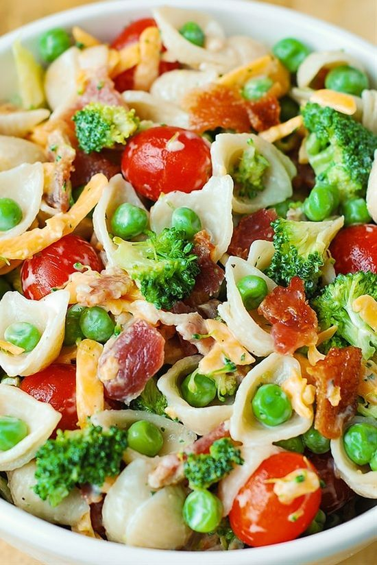 253 best images about recipes for salads on pinterest for Best summer pasta salad recipes ever