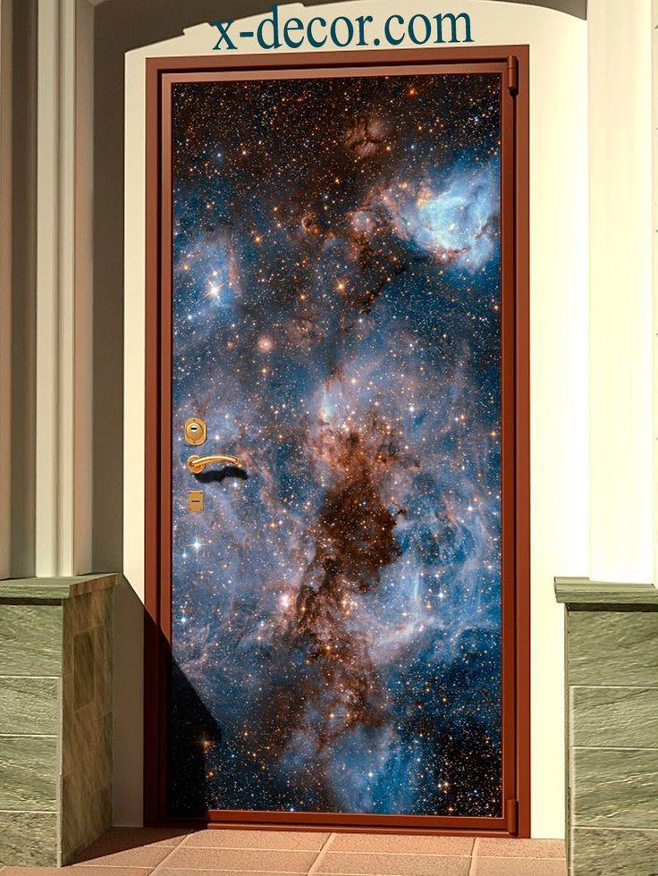 Door sticker – Deep space