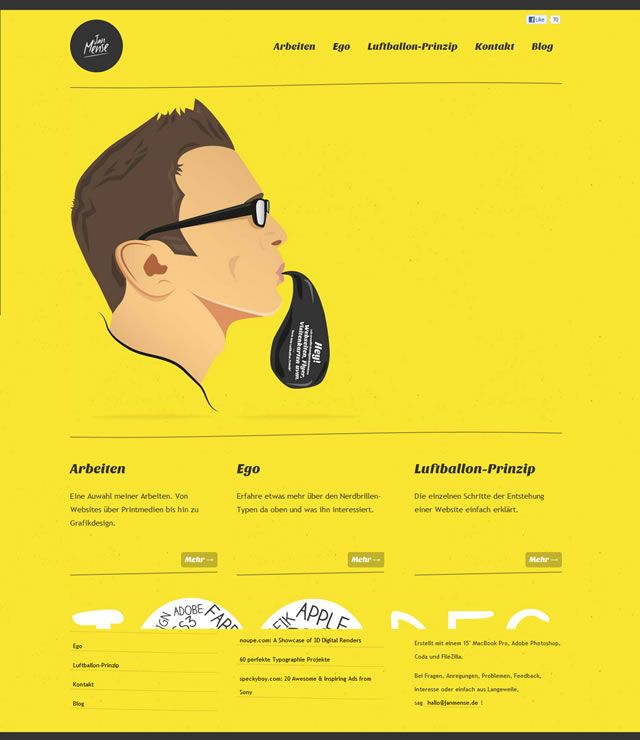 Weekly Web Design and Development Inspiration – N.130