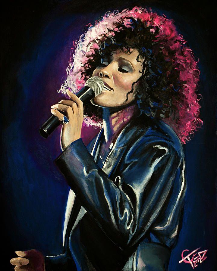 """""""Whitney Houston"""" by Tom Carlton"""