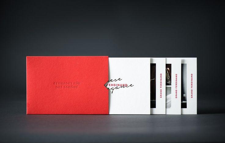 Red in Branding & Graphic Design: Grand Ferdinand by Moodley, Austria