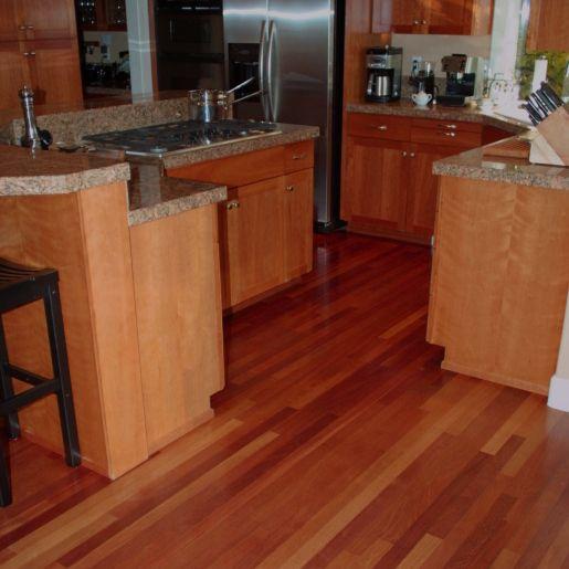 Brazilian Cherry Hardwood Flooring - Prefinished Engineered Brazilian Cherry Floors and Wood