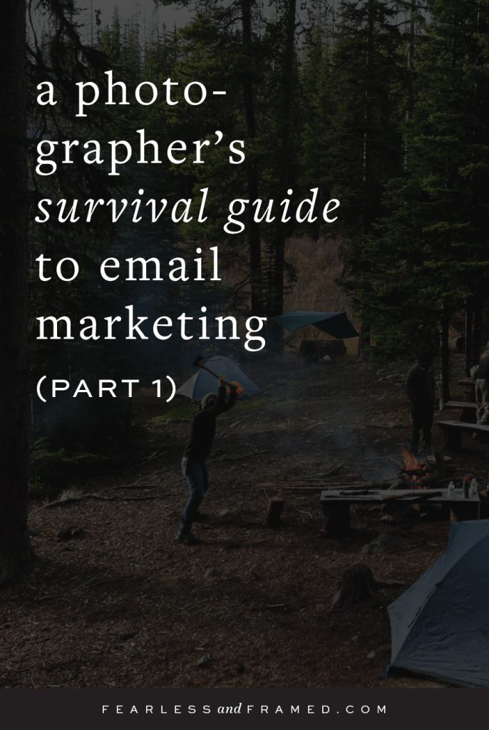 email newsletters for photographers