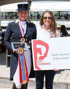 Patricia Koschel and Katie Riley of Piaff Performance Farm