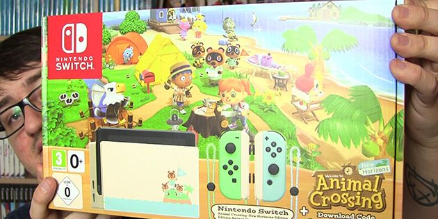 Nintendo Switch Animal Crossing: New Horizons-Edition in ...