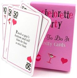Dare to Do It Activity Cards - A Fun Bar Game