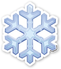 Snowflake | Emoji Stickers