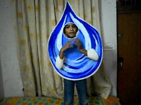 Water At Fancy Dress Competition