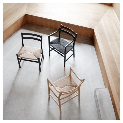 styletaboo:  Hans Wegner - CH46/CH47 Chair for Carl Hansen [1965]