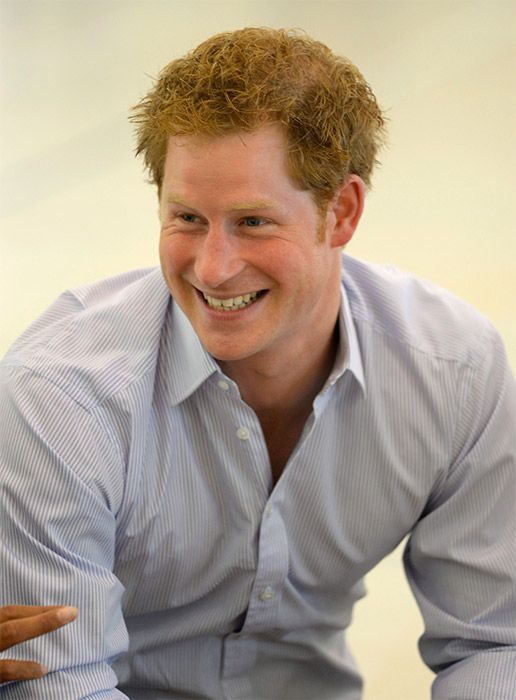 hrhroyalty: Prince Harry at Rede Sarah Hospital in Brazil, June 23, 2014