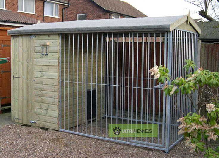 pictures of dog kennels | The Wrenbury 10.6ft Wide x 5ft Deep Dog Kennel
