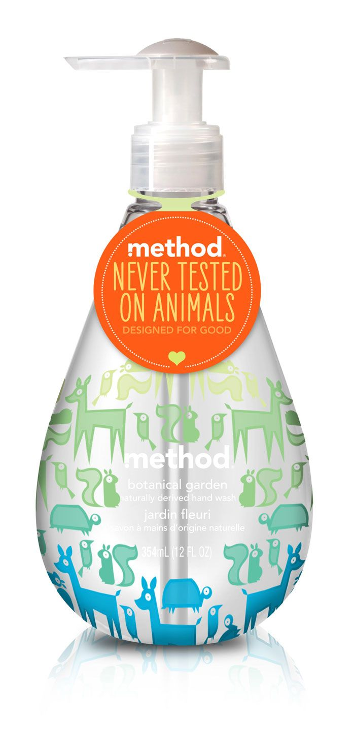 Never realized what a great brand Method was until i saw a documentary on them. Great company! Started small :)  #crueltyfree  #noanimaltesting