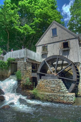 Water-mill, Plymouth, MA