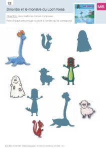 Dinoribs et le Monstre du loch Ness, fiche 11