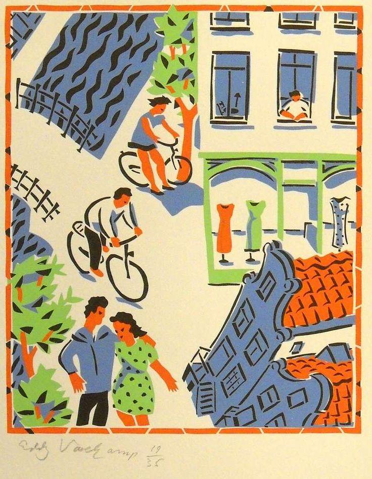 Amsterdam - Stencilprint