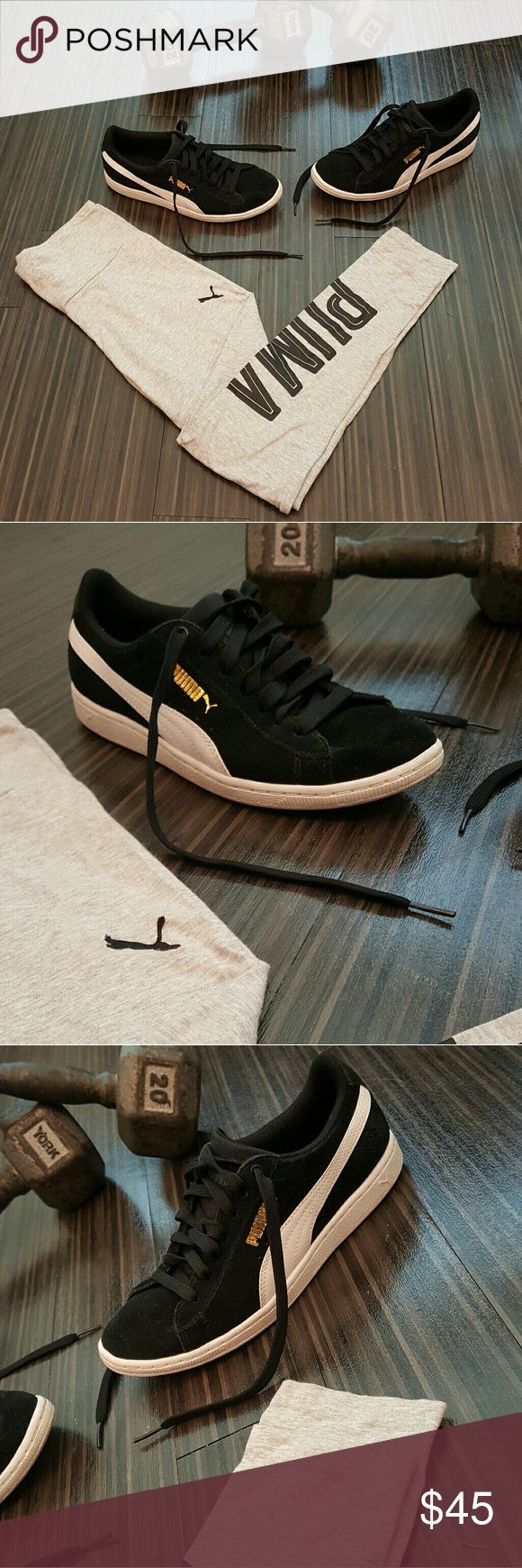 Details about puma womens suede classic rg black running shoes - Newclassic Puma Suede Shoes Womens Size 7 5 Like New Condition Accepting Only Reasonable Offers