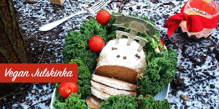Julskinka – Vegan, vegetarisk och Paleo – glutenfri