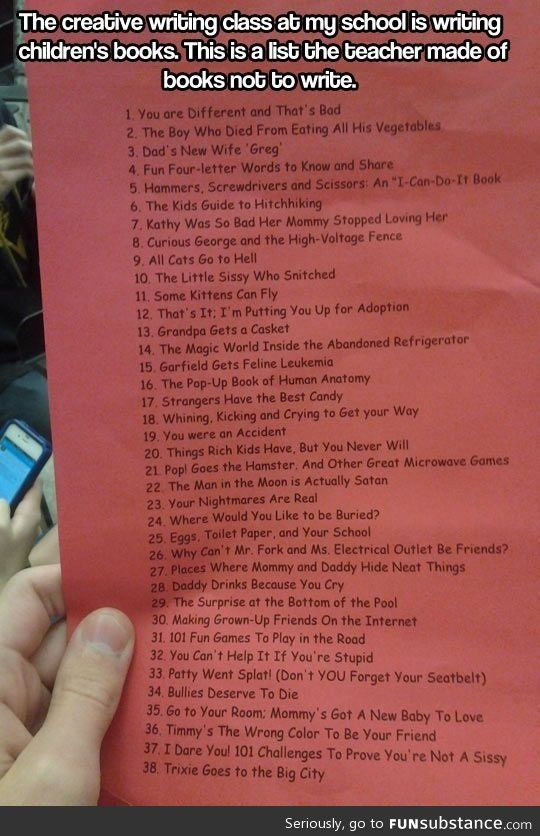 I want to read all of these!