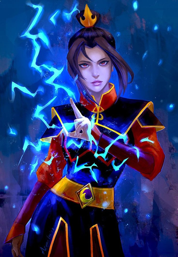 """Okay so it took me AGES (and asking a friend who watched the show) to understand why Azula's fire was always blue (I figured it might've had something to do with her name - Azure, also """"Azul"""" is Spanish - I think) but as it turns out blue-white fire is a lot hotter than red-yellow fire (I knew that bc I did GCSE chemistry but y'know when your mind sort of forgets to connect two obvious things together) but it's ALSO a lot more dangerous and more difficult to control - more easy to lose…"""