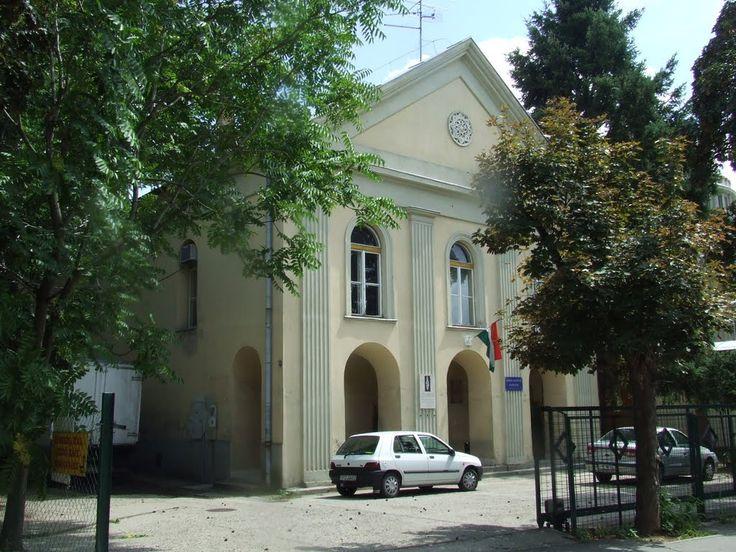 former synagogue in Gyöngyös  (Hungary)