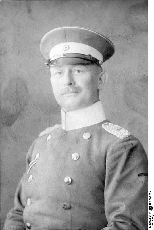 Paul Emil von Lettow-Vorbeck (20 March 1870 – 9 March 1964) was a general in the Imperial German Army and the commander of its forces in the German East Africa campaign. For four years, with a force that never exceeded about 14,000 (3,000 Germans and 11,000 Africans), he held in check a much larger force of 300,000 British, Belgian, and Portuguese troops.
