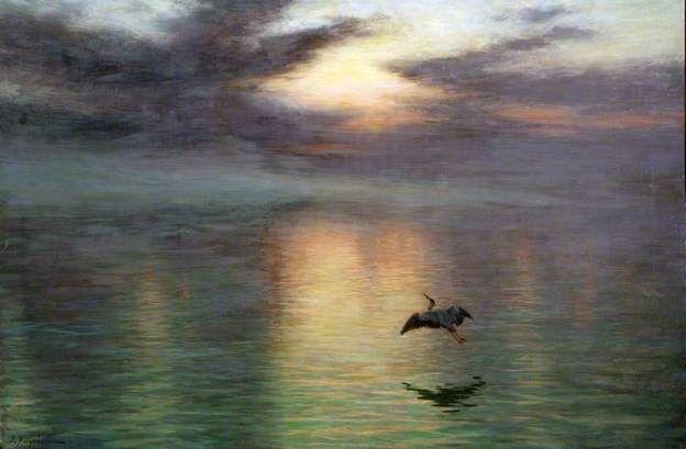 Dawn by Joseph Farquharson Date painted: 1903