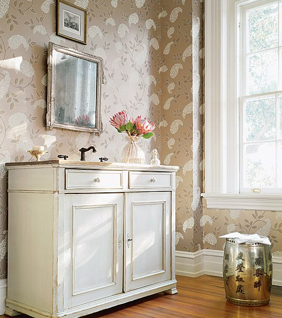 17 best paper the powder room images on pinterest for Bathroom wallpaper near me